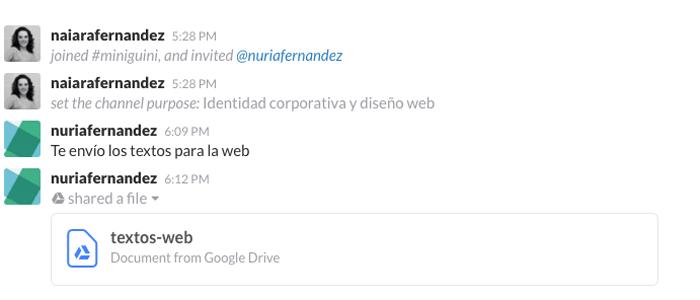 documento-google-drive-en-slack