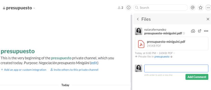 incluir-comentarios-en-los-archivos-de-slack